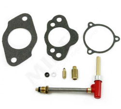 HS4 Service Kit (Leftt Hand) Horizontal|Kit contains all the necessary parts to service a pair of HS6 series carburettors. Parts included: jets, needle and seats, gasket pack (Note: Metering needle NOT included)