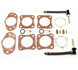 HS8 Service Kit (Pair)|Kit contains all the necessary parts to service a HIF7 series carburettors. Parts included:Universal  jets, needle and seats, gasket pack (Note: Metering needle NOT included)